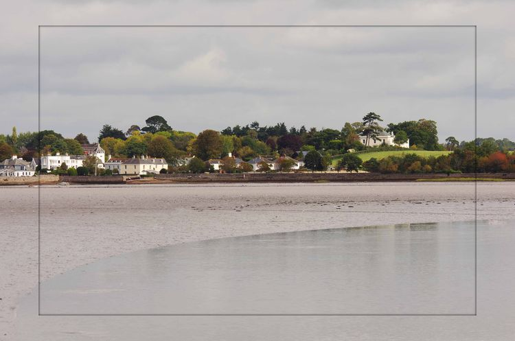 Topsham from Turf